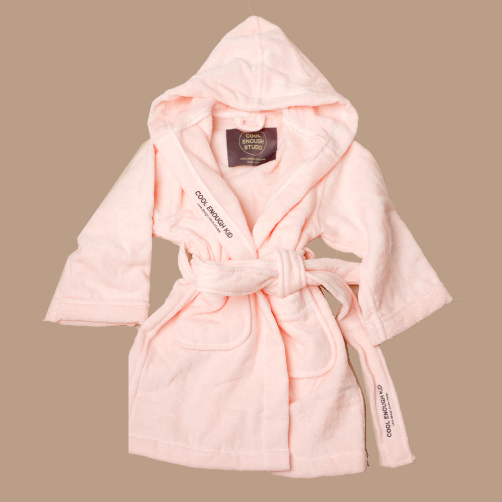 THE ROBE_KID[PINK] _타월소재